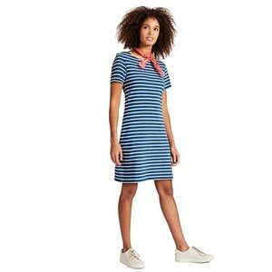 Joules Riviera Striped Knee length cotton Dress 2